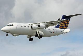 Lufthansa Eurowings BAE 146 D-AEWE