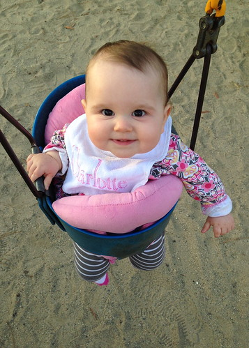 Charlotte at the park, March 2014