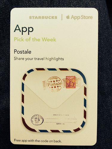 Starbucks iTunes Pick of the Week - Postale