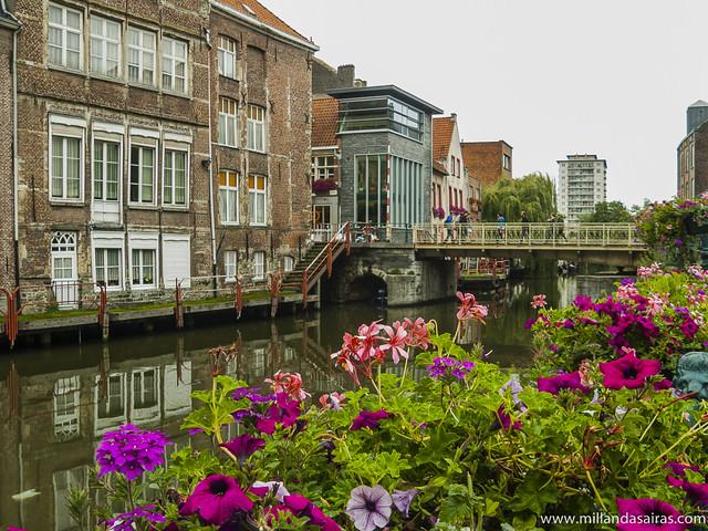 Canal en Gante