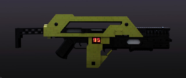 Aliens M41A Pulse Rifle - 02