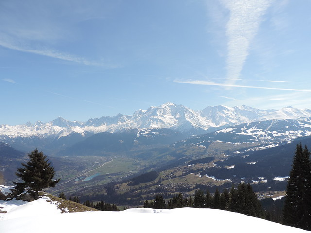 Sallanches et Mt Blanc