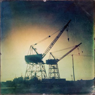 Abandoned Old Cranes in Dogpatch