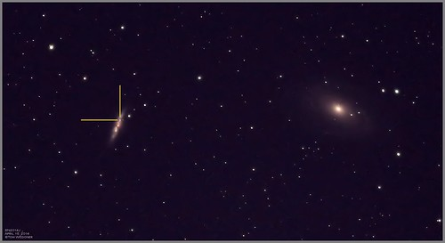 Supernova SN2014J in M82 April 16 2014