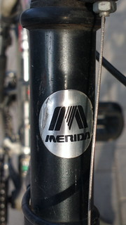 Merida (Taiwan) bicycle head badge logo
