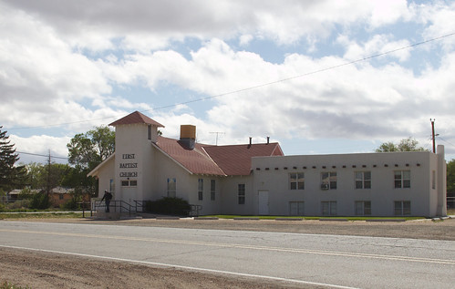 First Baptist Church, Mountainair, NM