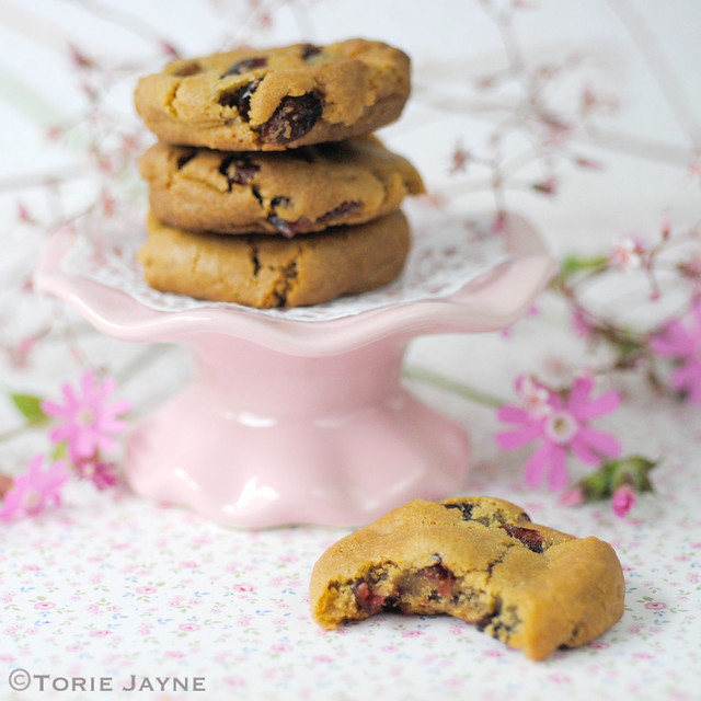 Gluten free berry cherry cookies