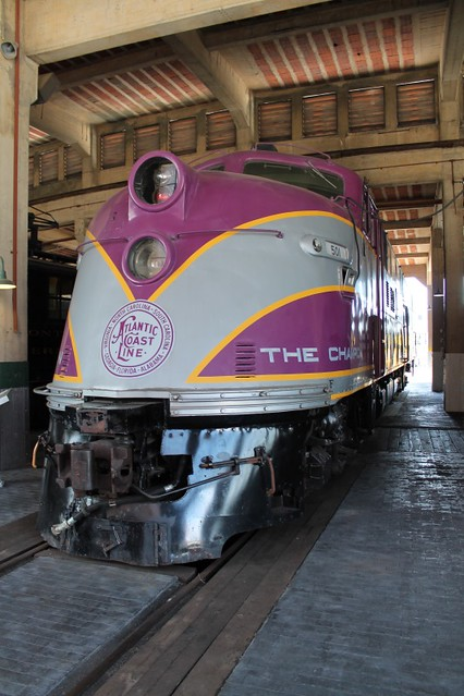 Atlantic Coast Line #501 Locomotive