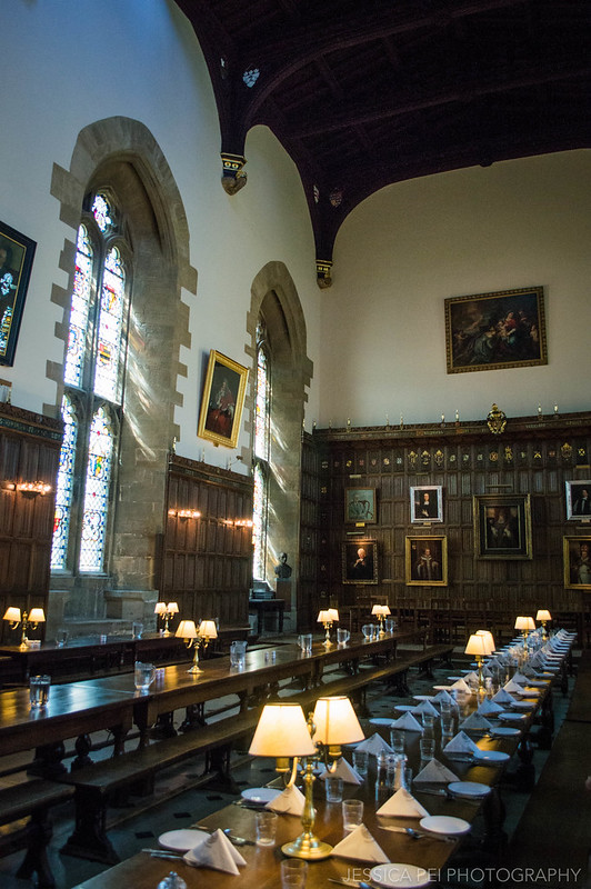 New College Dining Hall Oxford