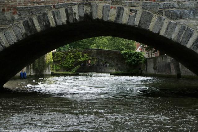 Bruges dai suoi canali