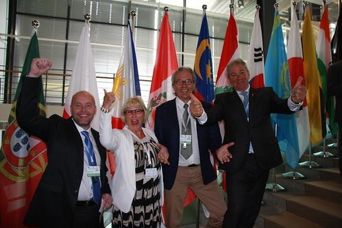 Celebration in Bonn