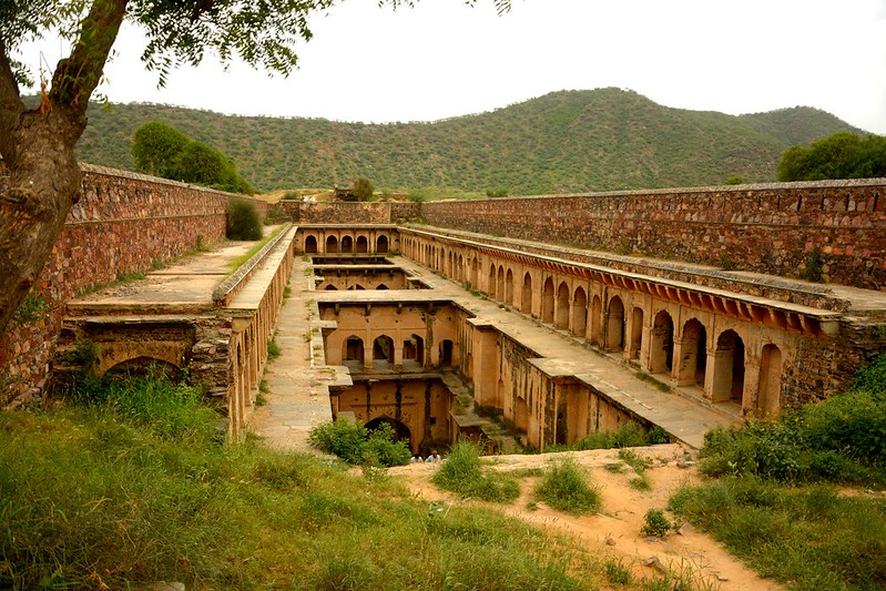 Baoli at Neemrana Village