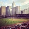 Prettiest Ballpark in the nation #charlotte #latergram #yesterday