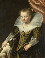 Paulus Moreelse, Bildnis eines M�dchens (Portrait of a Girl, Known as The Little Princess)