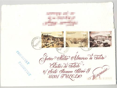 Carta desde Polonia