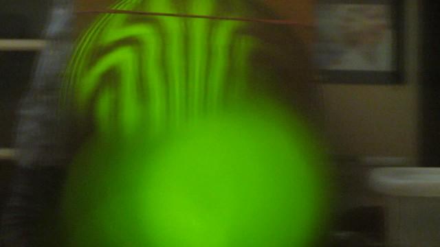 MVI_9203 Dmitri polished 12in glass Ronchi test pattern oblate sphere 17s