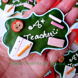 A+ Teacher cookies