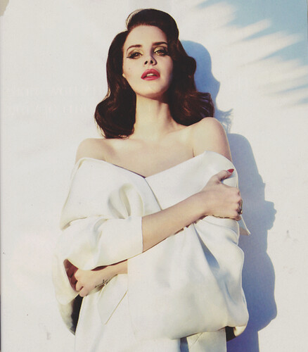 Lana Del Rey In White