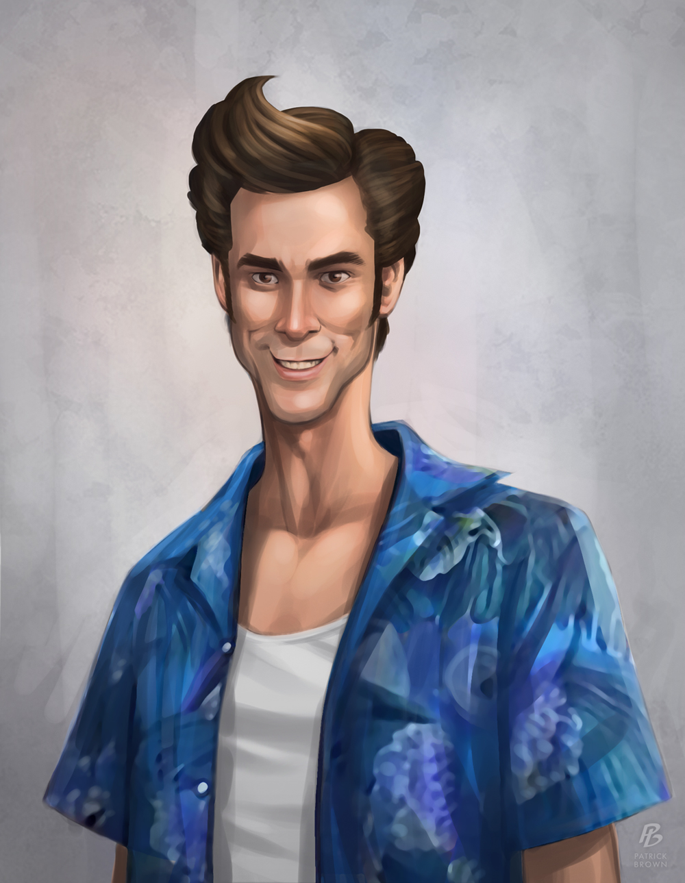 'Ace Ventura' - Patrick Brown