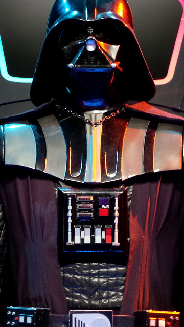 Darth Vader, close up
