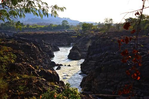 runoff of Tat Somphamit waterfall