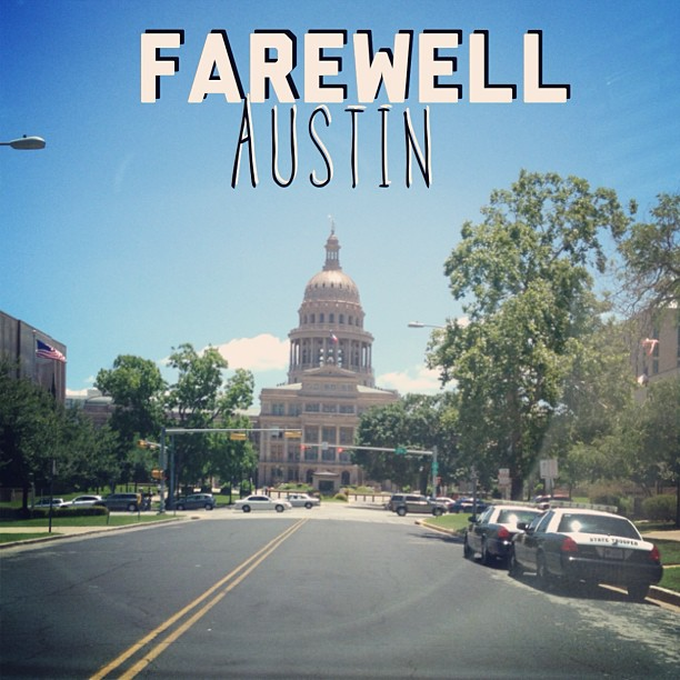 #Farewell #Austin. It's been great.. See ya next time! #houston we'll see ya soon! #atx #vacayover #3twentysix
