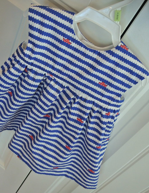 Little Geranium Dress (3-6 mo)