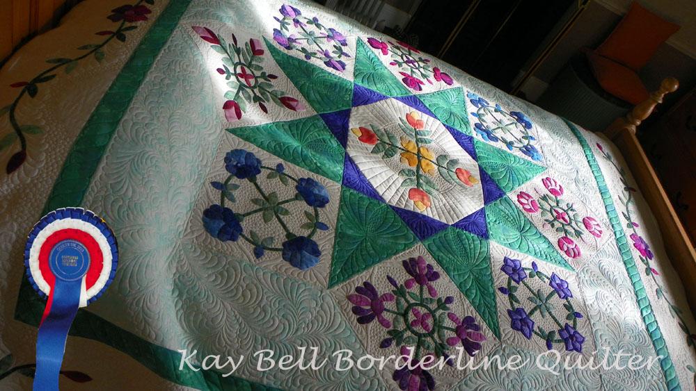 Quilts UK Malvern rosette