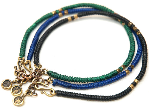 Esperanto / String Braid Anklet