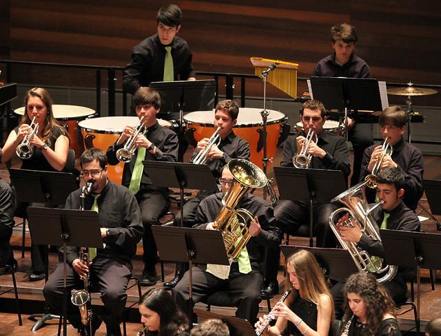 """V FESTIVAL DE BANDAS DE MÚSICA """"UNIVERSIDAD DE LEÓN"""" - BANDA DE MÚSICA JUVENTUDES MUSICALES-UNIVERSIDAD DE LEÓN - LEÓN 28.04.13"""