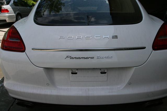 porsche white panamera