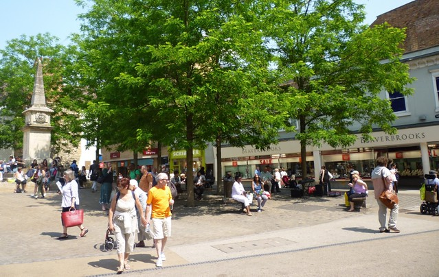 Contested Space: Bonn Square, Oxford