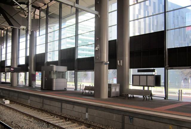 Regional Rail Link: Southern Cross Station, July 2013