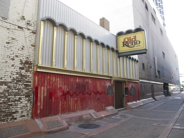 Old Reno is closed
