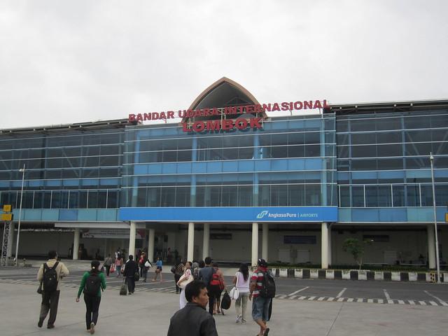 Терминал международного аэропорта Ломбока