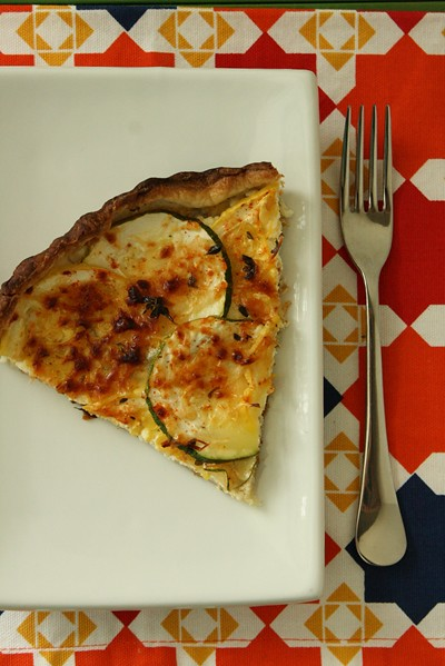 9328270560 05632a7f96 z Soul Searching Saturday with a Savory Summer Squash Tart