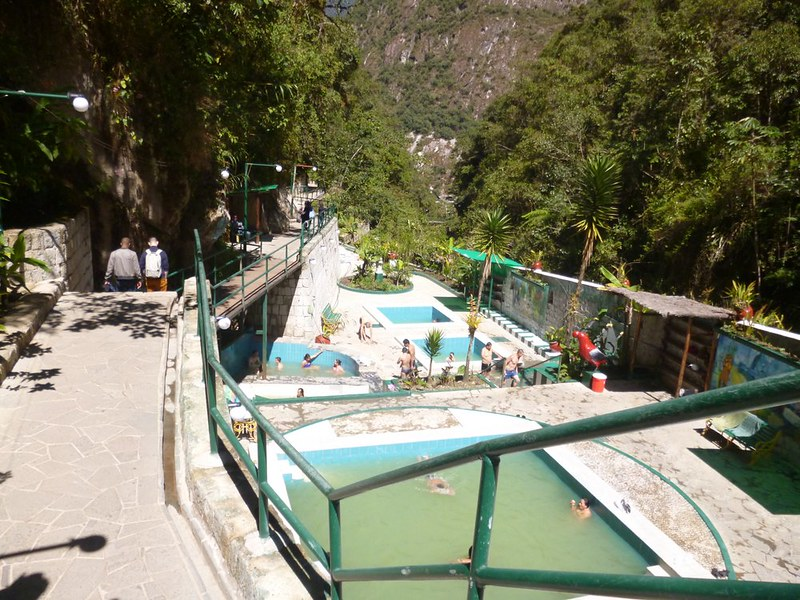 Themal baths at Aguas Calientes