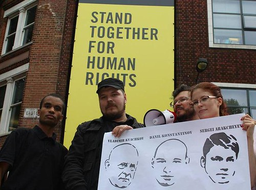 Evgeny Legedin, Raimond Krumgold, Ajo Benes, Amnesty International