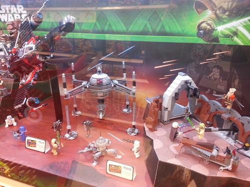 LEGO Star Wars Display Scene