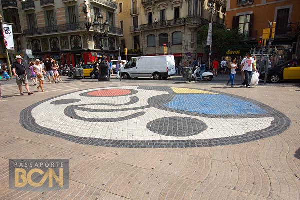 Pla de l'Os, Joan Miró, Barcelona
