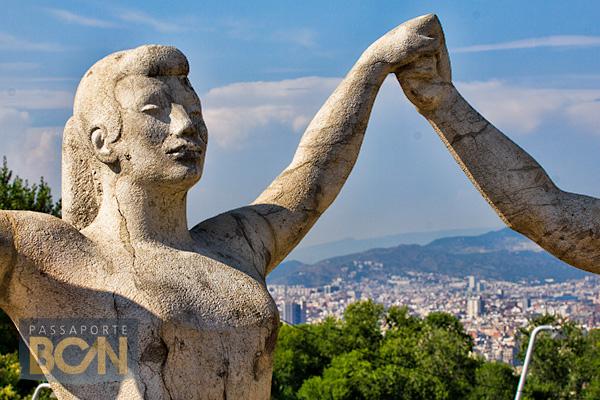 Monument a la sardana, Barcelona