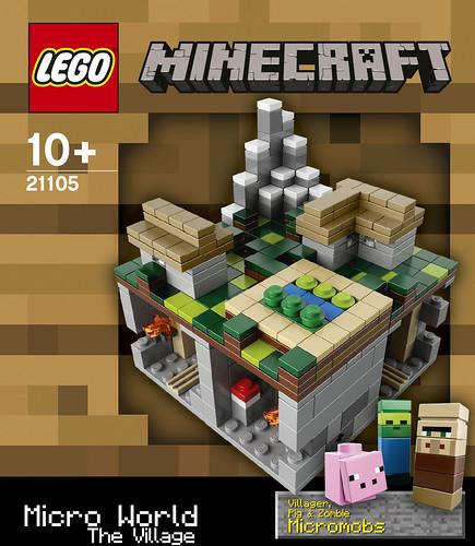 LEGO 21105 Box Front