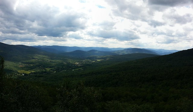 View west from Burnt Knob