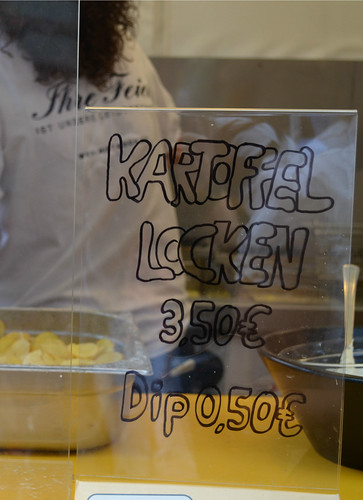 Wiesbaden Wine Fest 2013 Kartoffel Locken Potato Chips