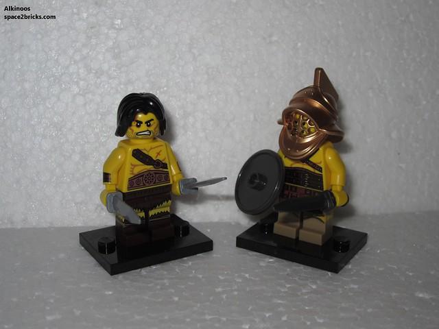 Minfig série 11 gladiateur p3