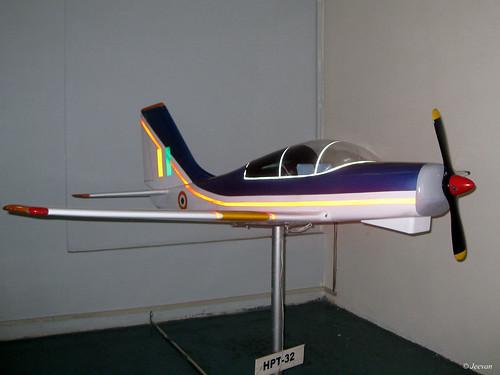 HAL HPT-32 Deepak (a model plane)