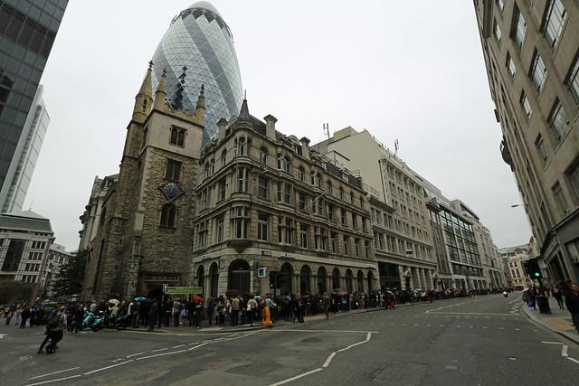 LONDON OPEN HOUSE QUEUES