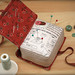Book Pincushion by PatchworkPottery