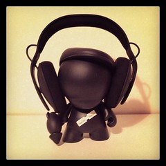 It's me! #toy #black #guns #flathat #headphones #incase #art #display