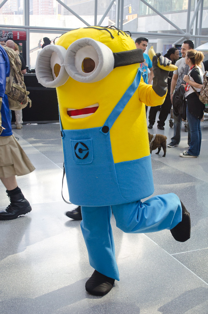 Despicable me cosplay NYCC 2013